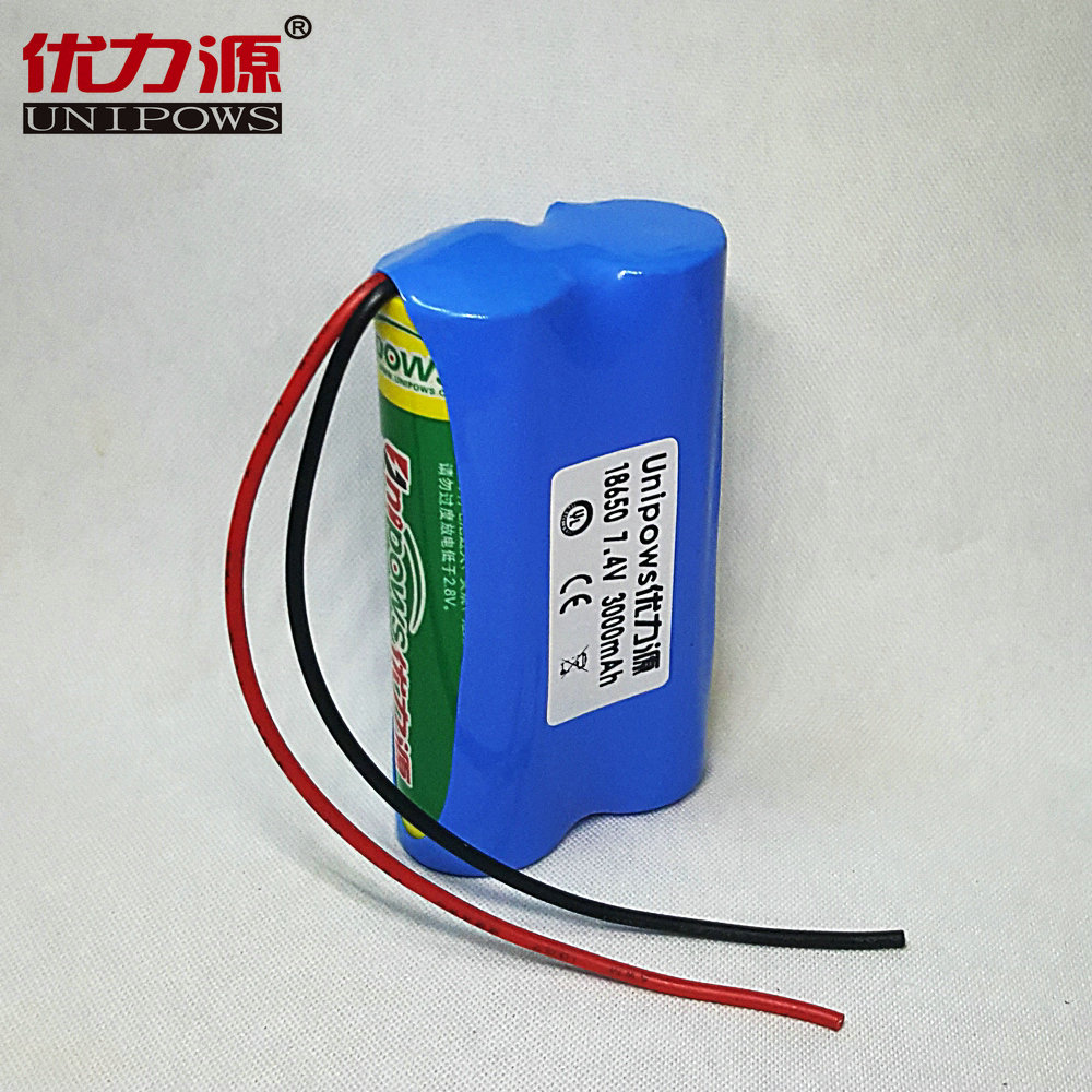Excellent source of lithium battery pack stereo loudspeakers 18650 lithium batteries 3000 mA protection fuse