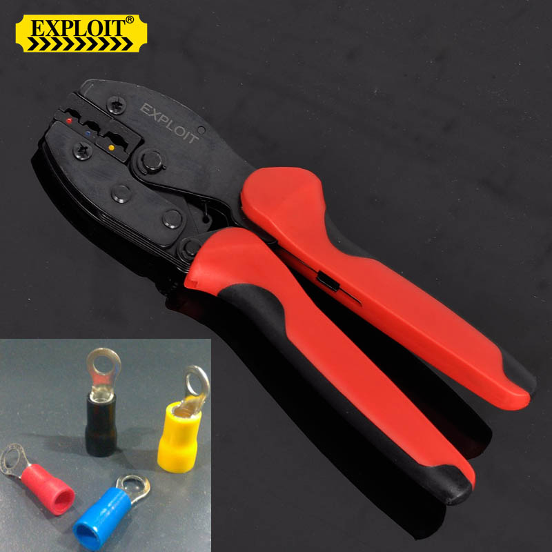 Buy Exploit 0 5-6mm2 10-22 ratchet terminal crimping tool crimping