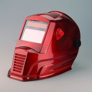 Exported to europe and high quality auto darkening welding mask welding cap WH7711 red