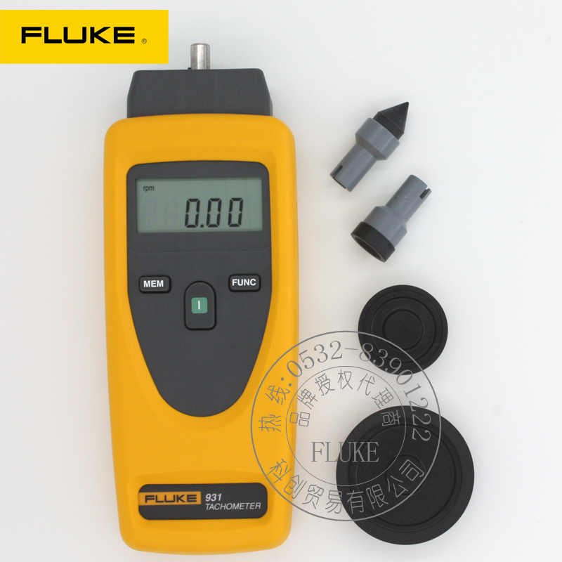 F931 fluke fluke optoelectric f930 optoelectric contact dual tachometer non contact tachometer line speed shipping