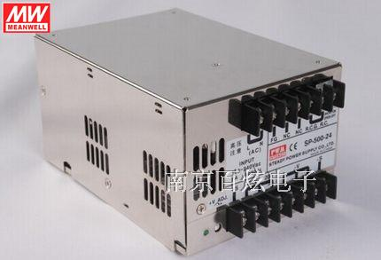 Factory authorized 500 w 24v20a meanwell pfc power supply sp-500-24