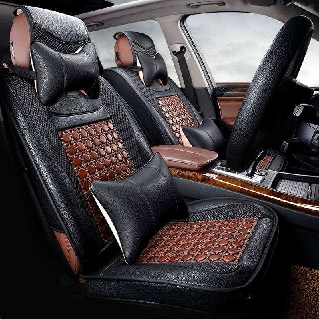 Factory direct high-quality badger skin leather seat cover large size leather shaped generic leather car seat covers four seasons general coverings