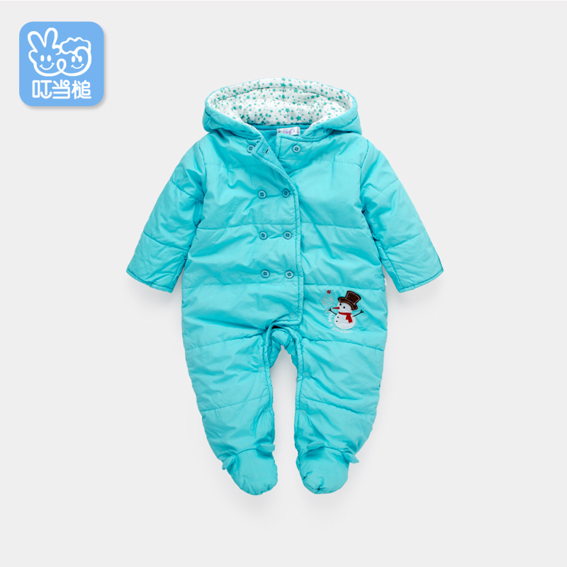 Fall and winter clothes baby coveralls newborn baby full moon cotton baby clothes romper climb clothing newborn baby clothes winter