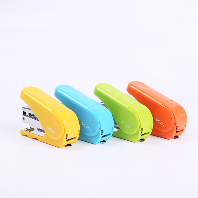 Fashion color office stapler stationery dawn excellent product series ABS92 effort stapler 12 # staples 682