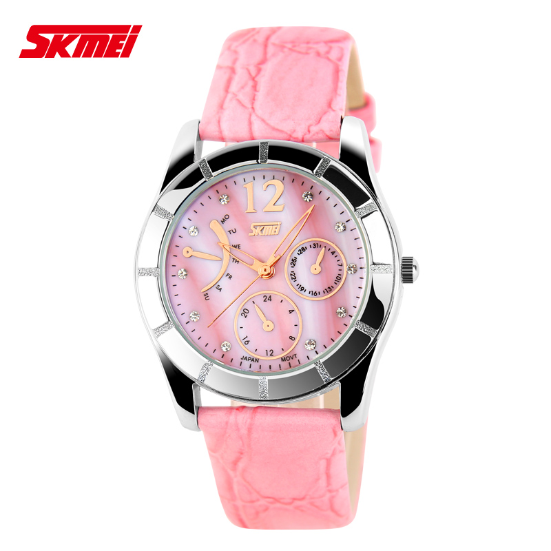Get Quotations · Fashionable ladies watches classic watches ladies waterproof leather belt pointer quartz watch high school students
