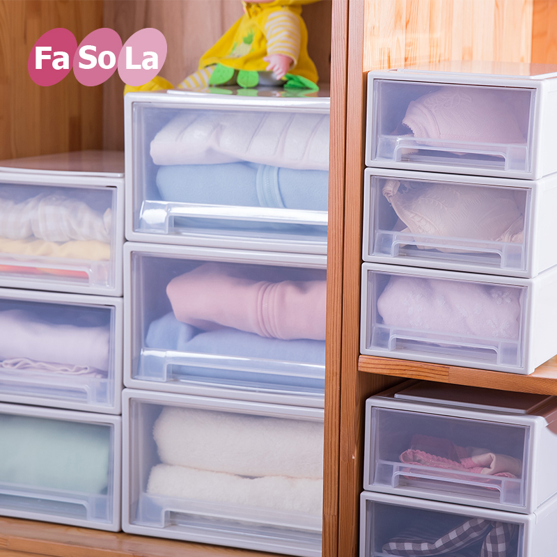 Fasola plastic drawer storage cabinets lockers baby baby wardrobe cabinet finishing children assembled cabinet