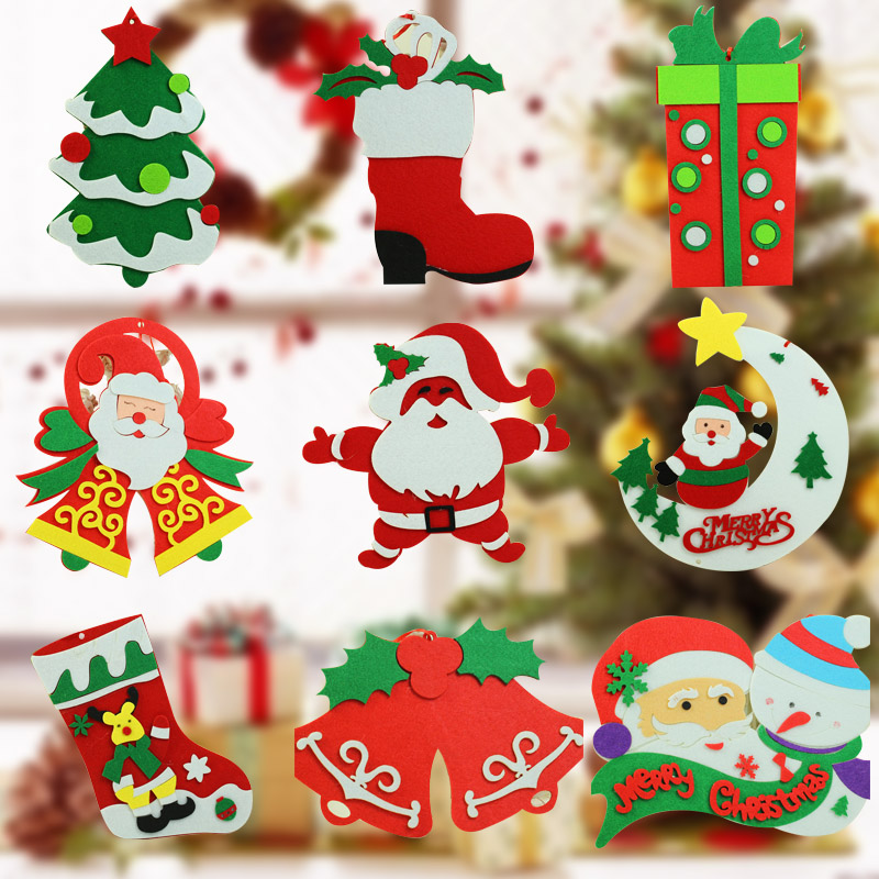 get quotations feast of the classification of new christmas tree decorations christmas ornaments christmas deer ornaments charm wovens - Wholesale Christmas Decorations