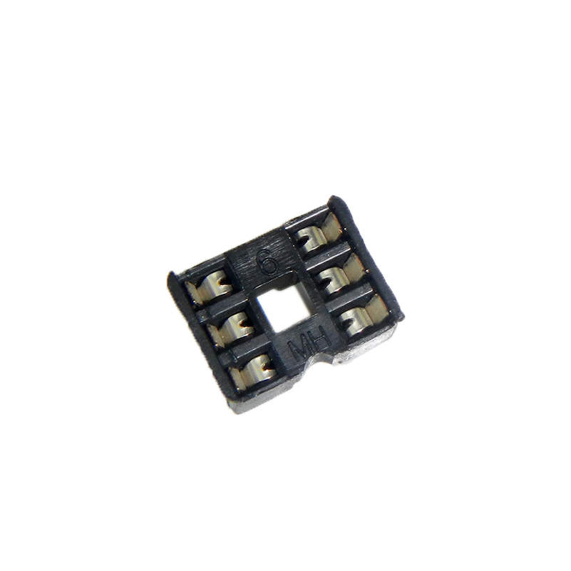 Fei bite 6 p ic chip mounting seat ic socket ic socket ic socket base