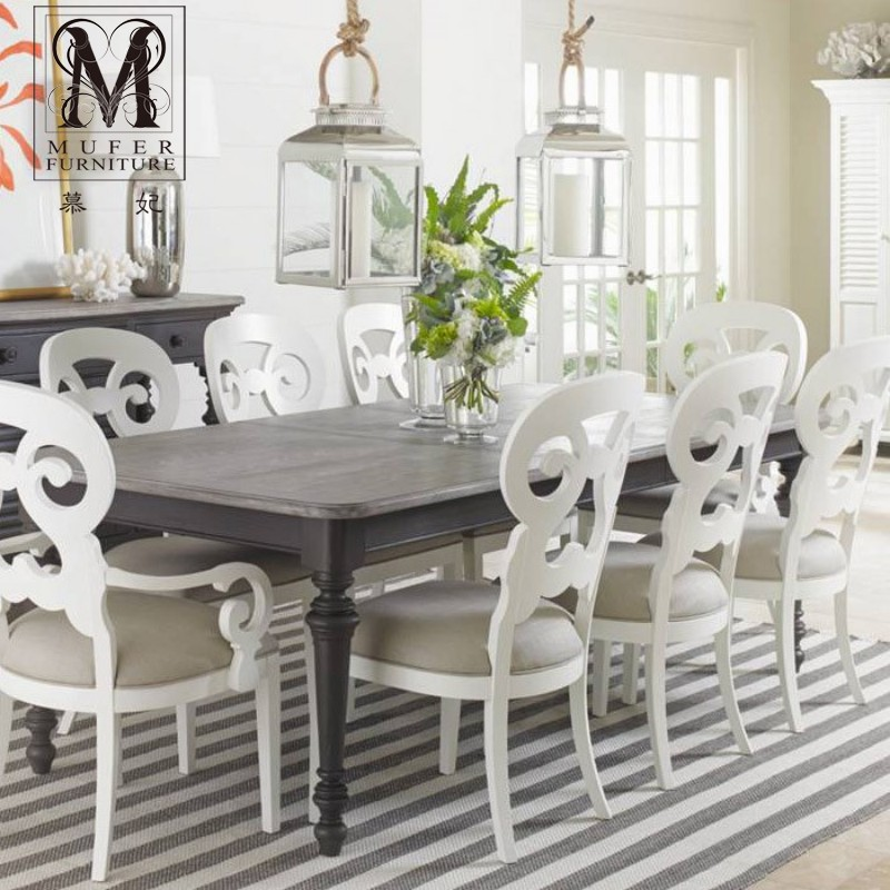 Fei mu end custom furniture american country european kitchen furniture dining table long table SL44 diabla