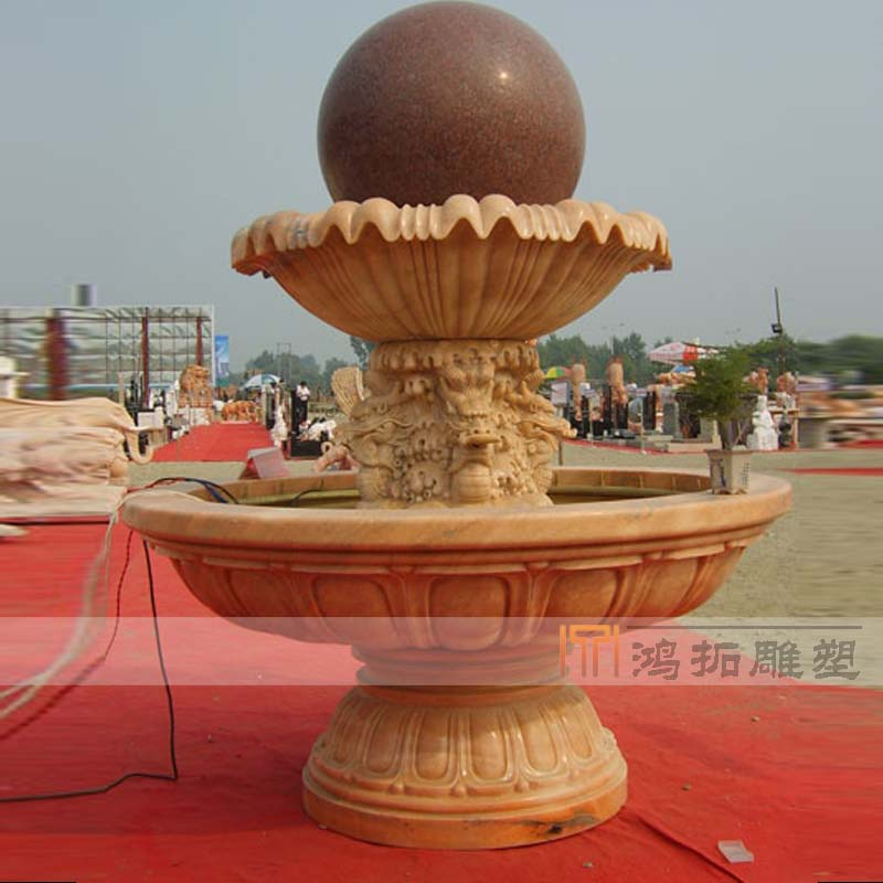 Feng shui ball stone carving marble sculpture leading feng shui feng shui ball ball ball feng shui indoor HT623