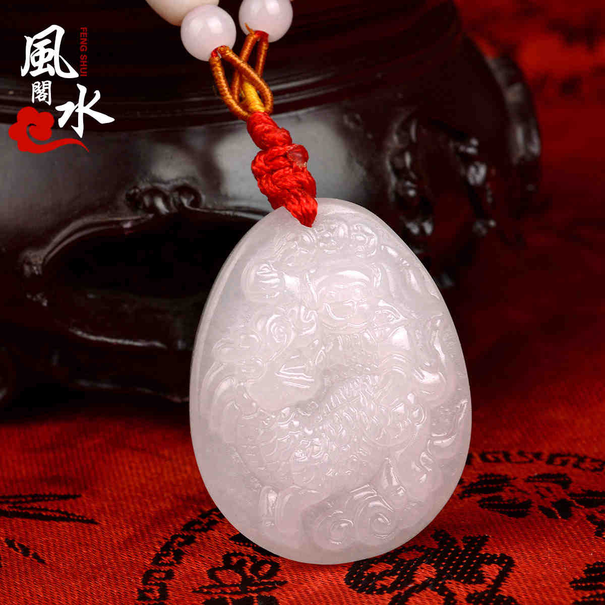 Feng shui court 2016 twelve zodiac year of the monkey king monkey monkey mascot wealthy jade pendant pendant natal