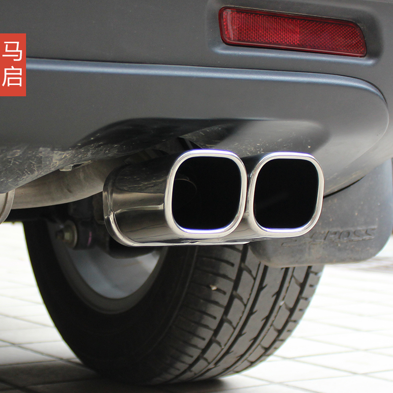 Feng yu suzuki vitara tail pipe stainless steel exhaust pipe muffler muffler modified special shipping