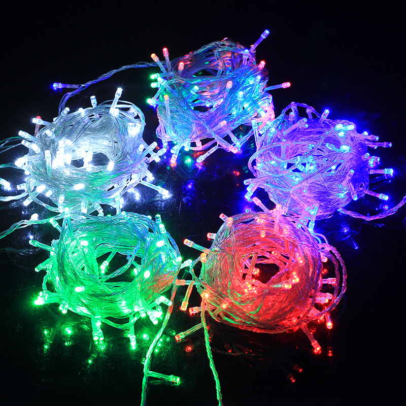 Festive halloween activities decorative light string lights flashing led lights string lights waterproof lights neon stars