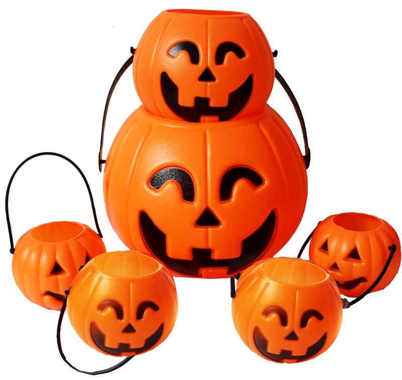 Find odd halloween supplies bar decoration props halloween pumpkins halloween pumpkin bucket pumpkin candy jar