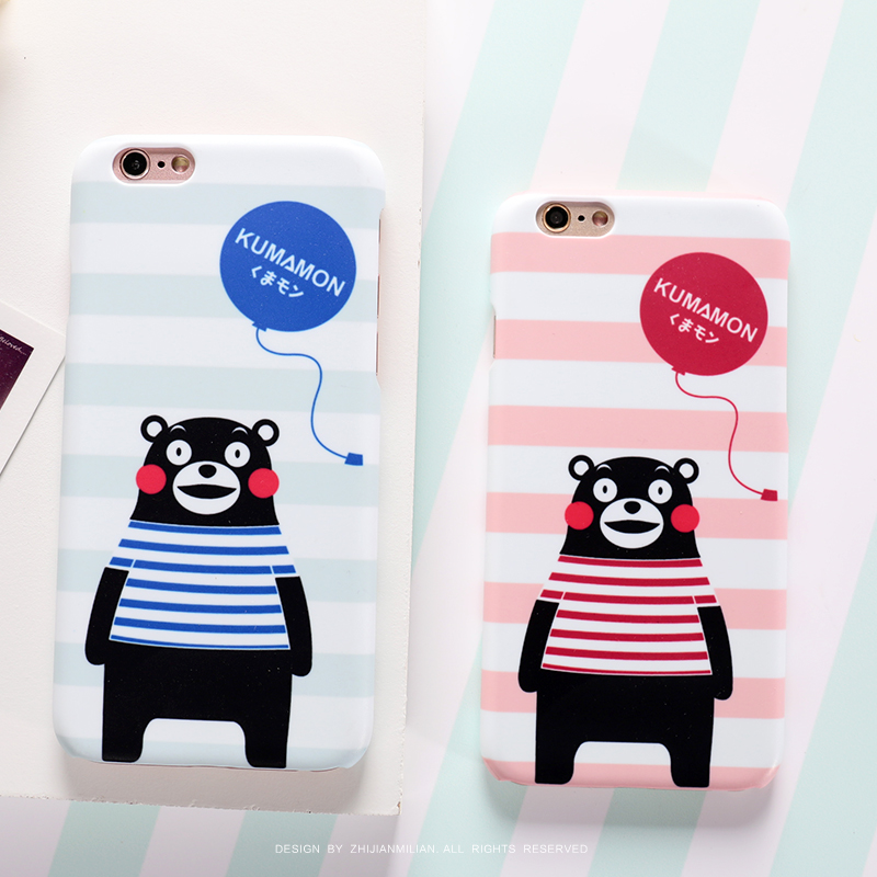 Fingertips obsessed with the minister s bear iphone6 phone shell mobile phone shell hard shell female 5se plus apple mobile phone sets protective shell