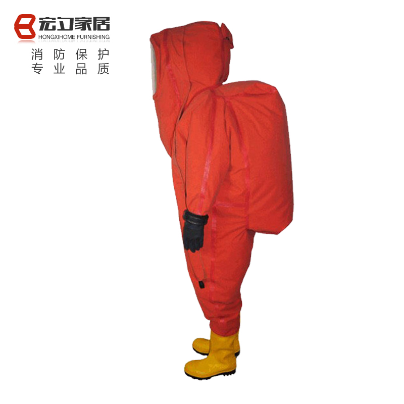 Fire acid chemical warfare chemical warfare suits heavy chemical suits siamese clothes completely closed chemical protective clothing protective clothing