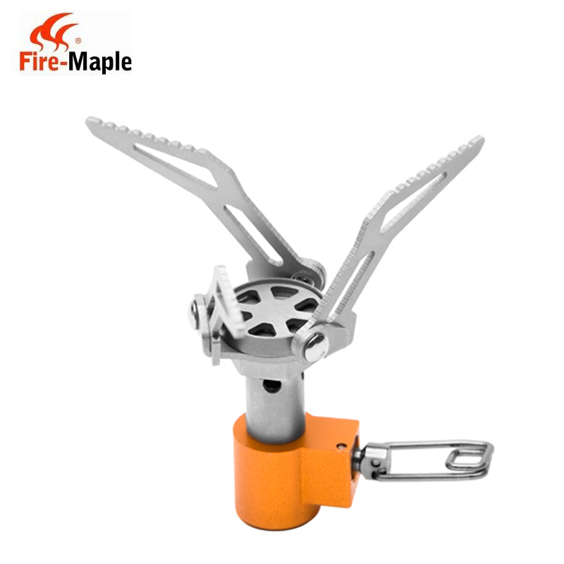 Fire maple fms-300t hornets ultralight outdoor camping gas stove burner integrated titanium micro type gas stove stove stove