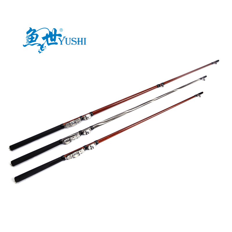 Fish world raft pole 1.3-1.8 m long section of carbon angeles fishing rod fishing rod boat raft pole anchor rod hard light plug Section pole 19c1