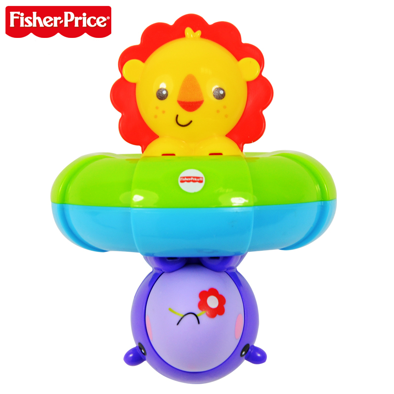 Fisher price fisher sided friend bfh74 bath baby bath toy swimming toys