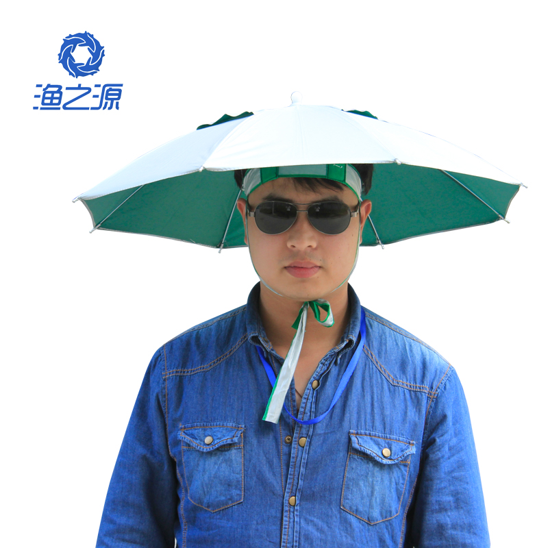 Fishing and the source of a large fishing umbrella hat fishing hat fishing umbrella hat head umbrella sun umbrella hat sun hat fishing gear