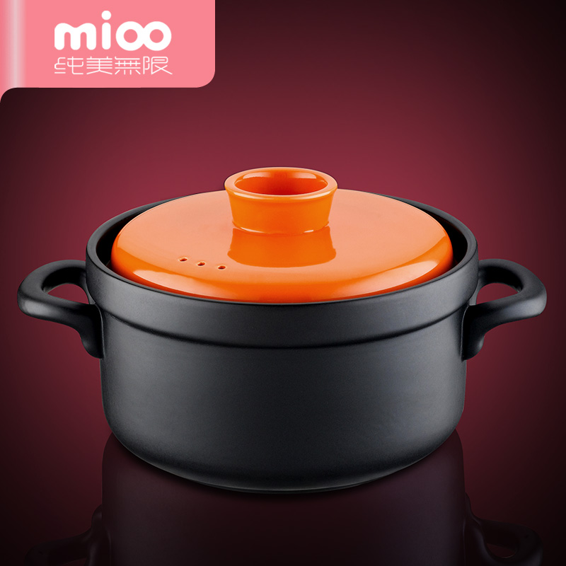 Flame temperature ceramic casserole stew pot porridge pot tangbao korean claypot stew pot casserole pot with