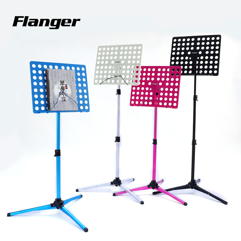Flanger ã] aluminum large spectrum of taiwan music stand can lift folding music stand universal musical scores shelves