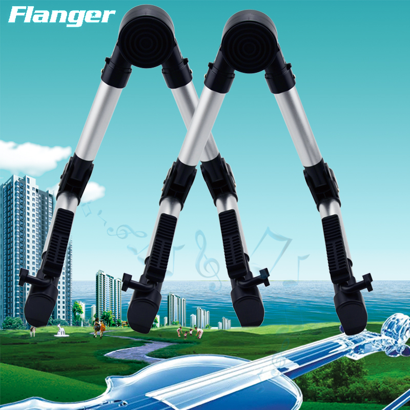 Flanger guitar rack aluminum type a zither folk guitar classical guitar stand electric guitar he shelf folding stand