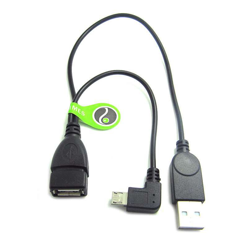 Float too elbow two points with a micro usb otg cable usb power usb to micro usb cable