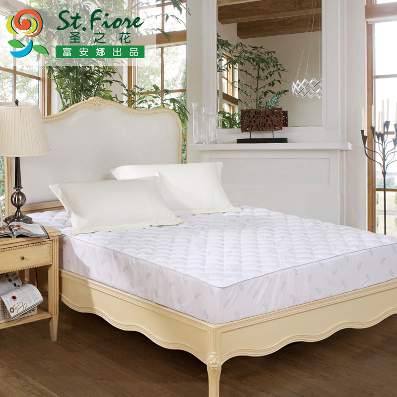 Flower st. paragraph textile enterprises bed protection pad 1.2/1.5/1.8 m bedspread shuya mite mattress protection