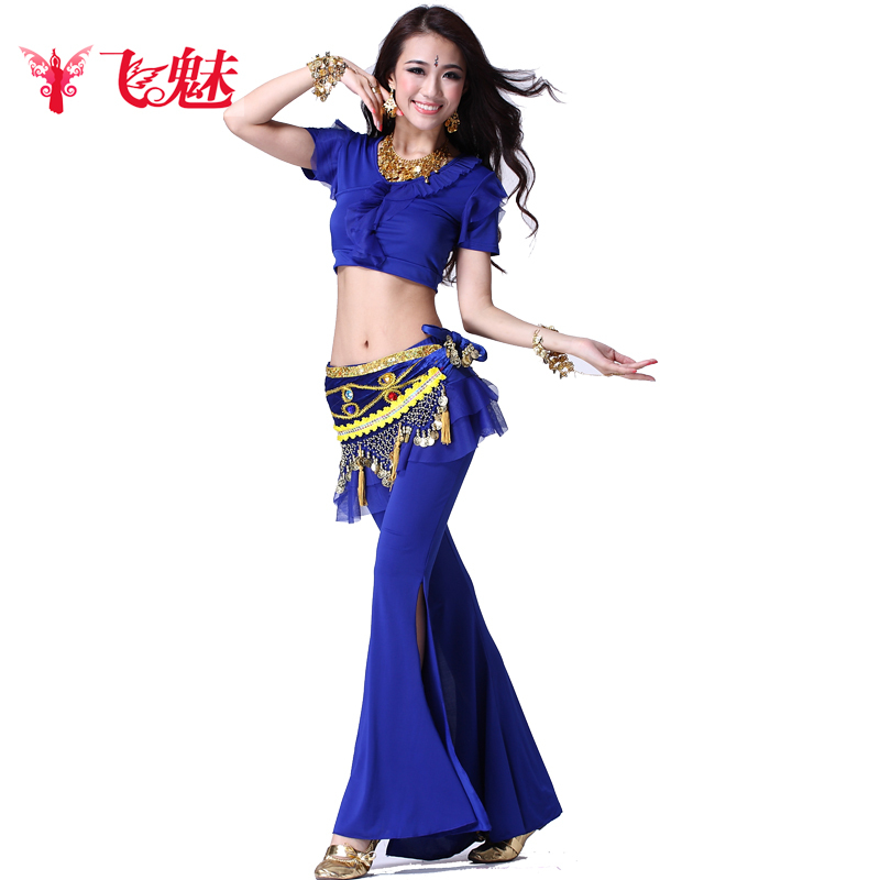 Fly charm belly dance belly dance costume skirt suit 2016 new sexy belly dance belly dance practice clothes and costumes female