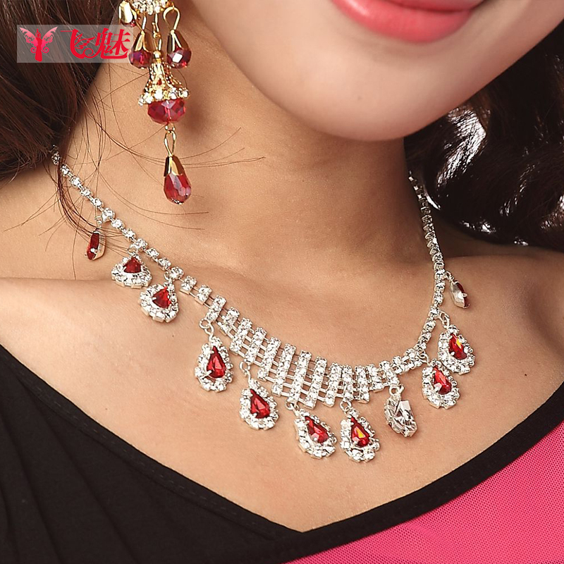 Fly charm belly dance belly dance costumes upscale indian dance performances jewelry accessories jewelry necklace neck chain eyebrows fall