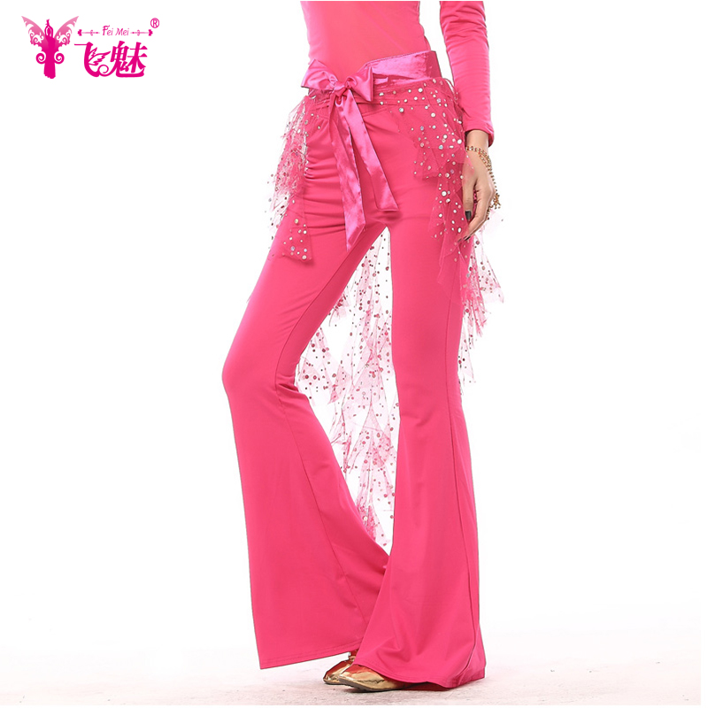 Fly charm belly dance costume belly dance pants flared trousers summer female belly dance practice belly dance pants practice pants trousers