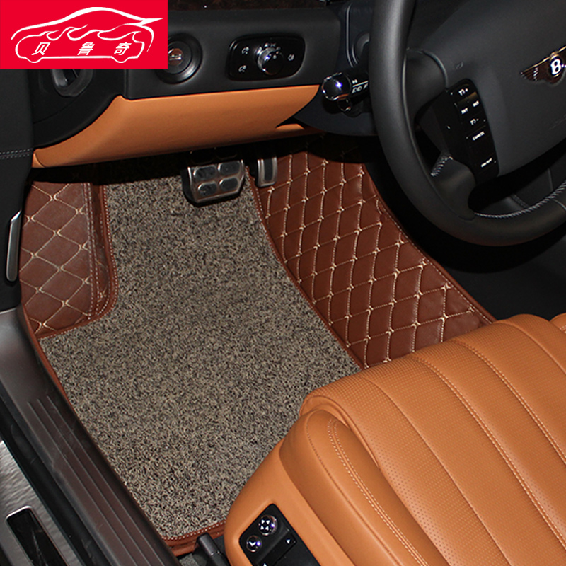 Footpads toyota crown toyota crown crown special wire loop car mats daquan surrounded ottomans