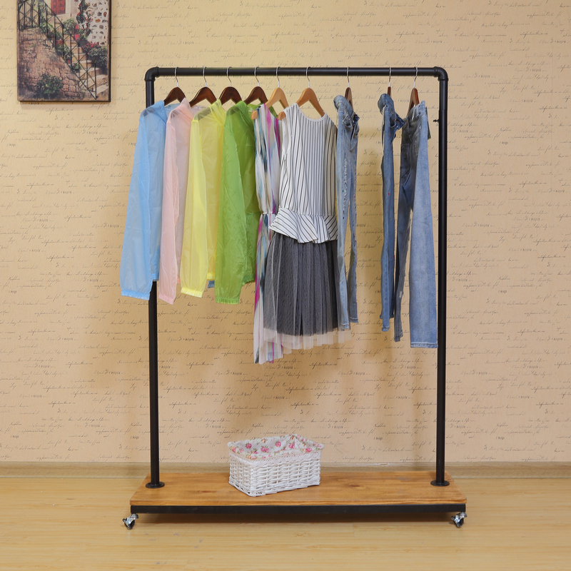 Force chau clothing store clothing rack clothing display rack clothing hangers display rack clothing for men and women landing on the positive side shelves
