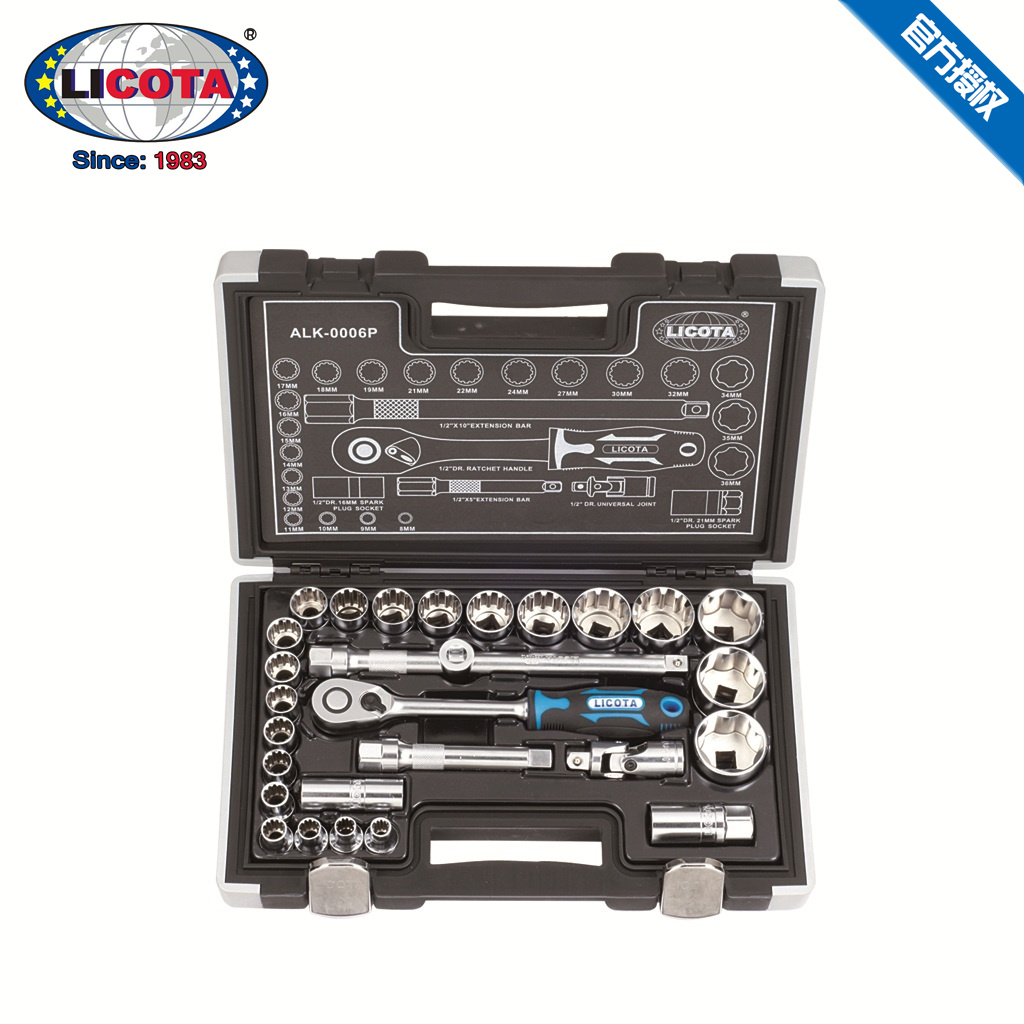 Force of up to 27 socket tool set tool kit 1/2 series repair tools aftermarket parts