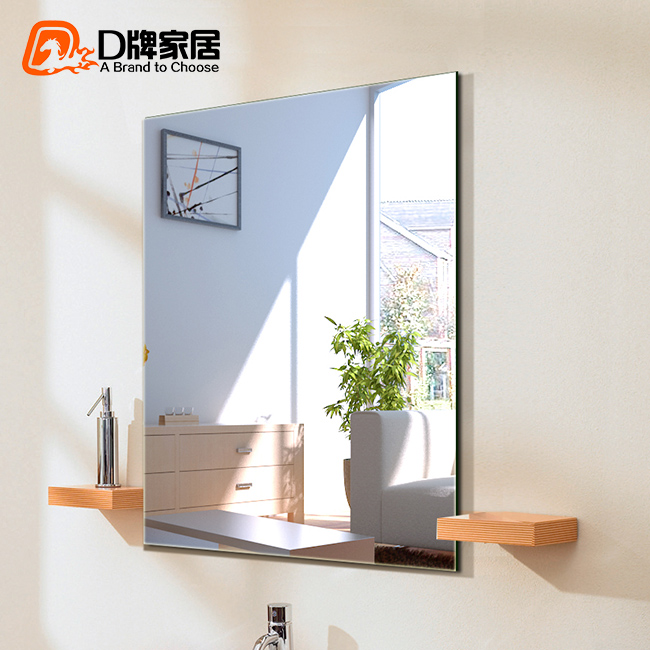 Frameless bathroom mirror bathroom minimalist bathroom wall mirror vanity mirror entrance mirror decorative mirror bathroom mirror