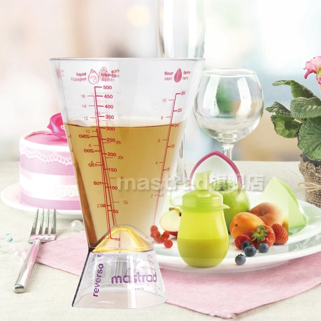France mastrad 500 ml measuring cup with a scale imported kitchen baking cup measuring cup plastic cup measuring cup ml cup measuring cup