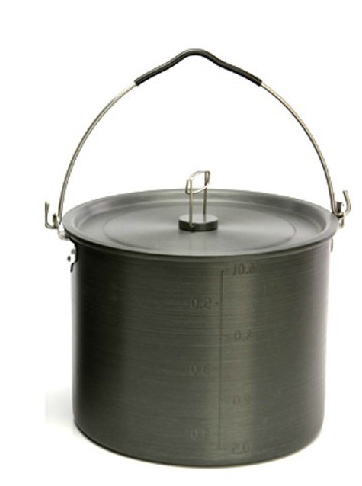 Free shipping alocs love the way customers outside 5-8 people camping cookware hanging pot suit camping outdoor picnic pot