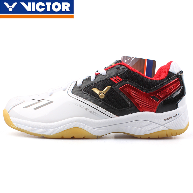 Free shipping authentic children's badminton shoes victor/victor victory 80JR professional youth sports shoes