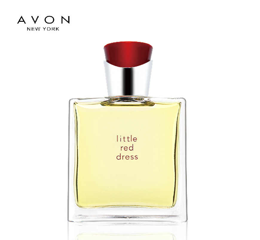 Free shipping avon little red dress and perfume spray perfume 50 ml ms. elegant passion lasting fragrance