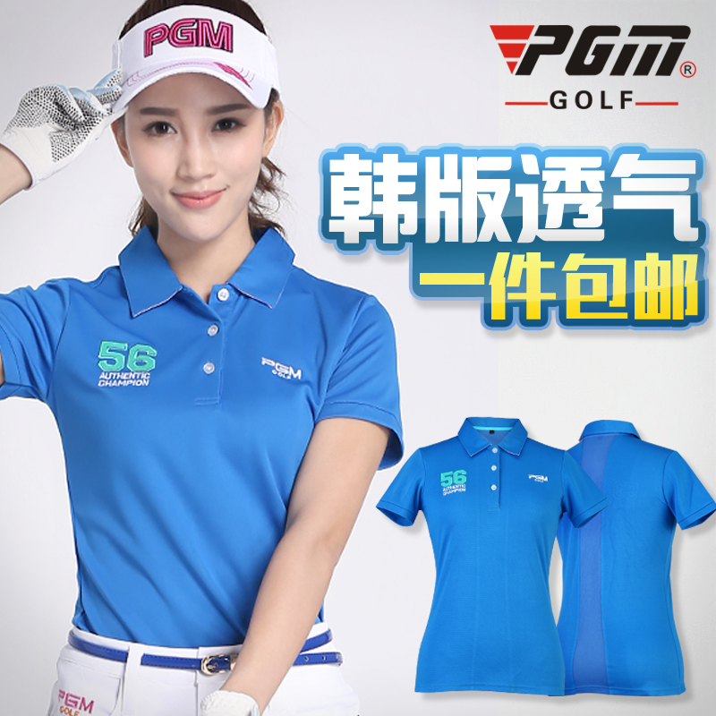 Get Quotations · Free shipping! counter new! pgm ladies golf clothing short sleeve t-shirt summer