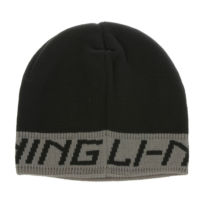 Free shipping counters authentic li ning knit hat warm winter sports caps neutral models for men and women AMZG042-1