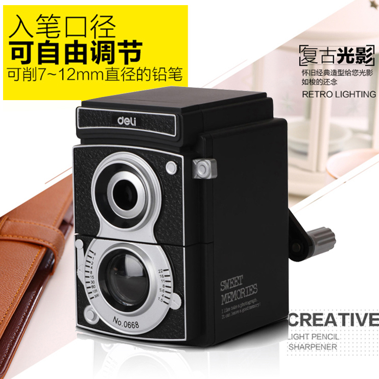 Free shipping deli pencil sharpener thickness adjustable volume cranked pencil sharpener pencil sharpener pencil sharpener pencil sharpener knife sharpener 0668