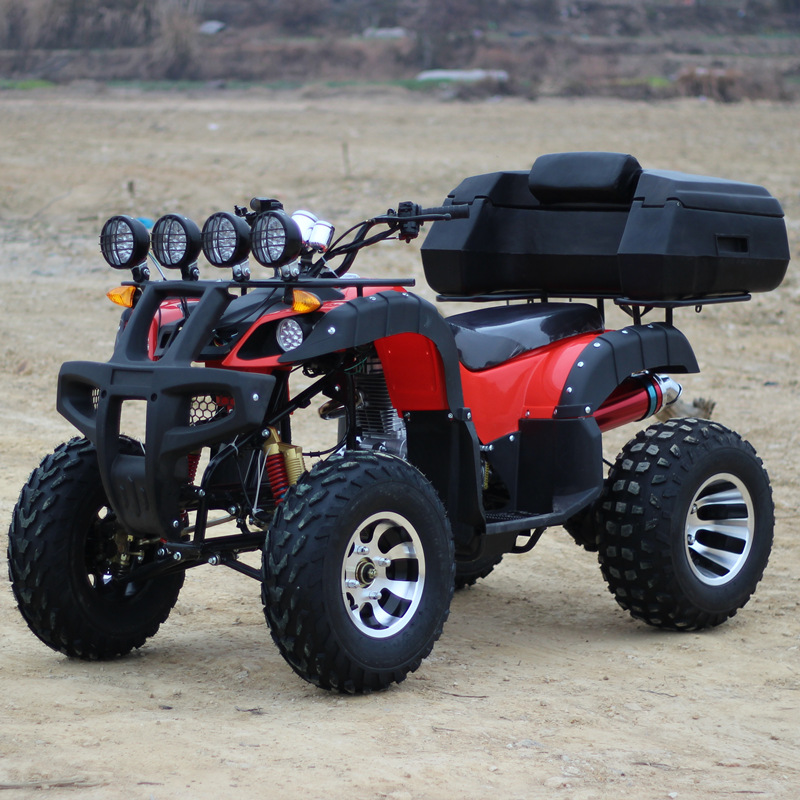 Free shipping flash video differential shaft drive zongshen 150cc big bull atv four 12-inch aluminum wheel 10 motocross Car