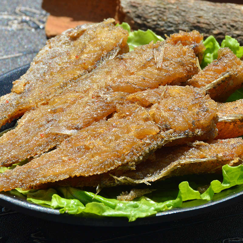 Free shipping fu yuan crispy small yellow croaker small yellow croaker zhoushan specialty snack snack ready 400g