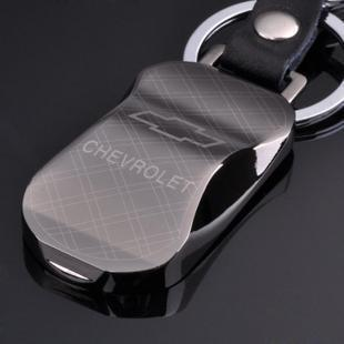Free shipping gift steel tungsten steel logo ford volkswagen modern chevrolet keychain ring chain waist hung men with disabilities