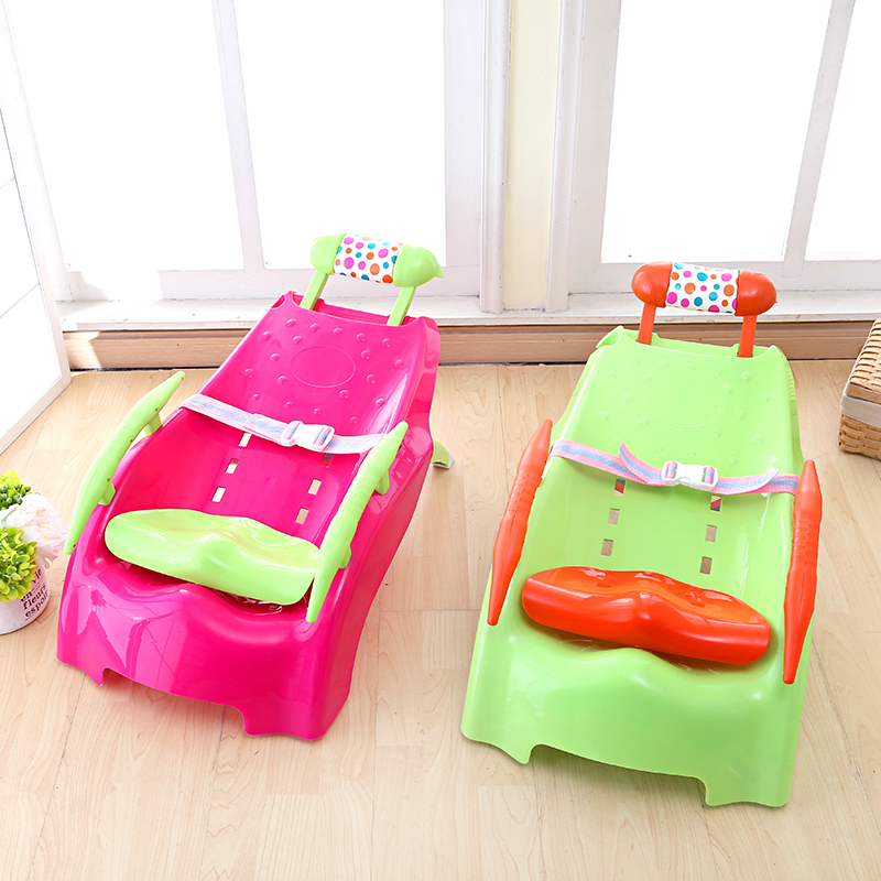 Free shipping music children baby shampoo chair shampoo baby shampoo chair folding stool can be adjusted monster