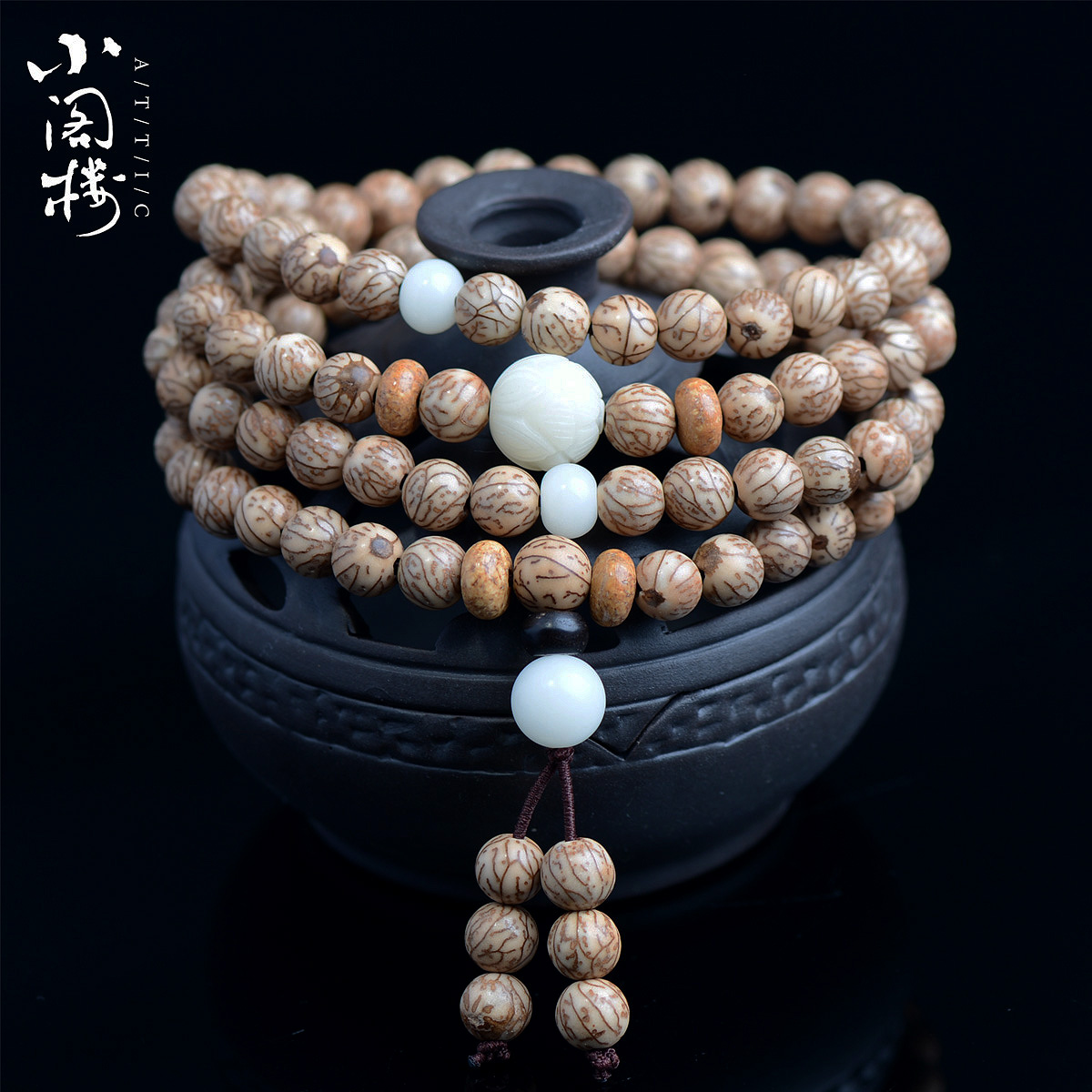 Free shipping natural gold gold bloodshot pu tizi 108 prayer beads bracelets bracelet male and female high density original seed specials