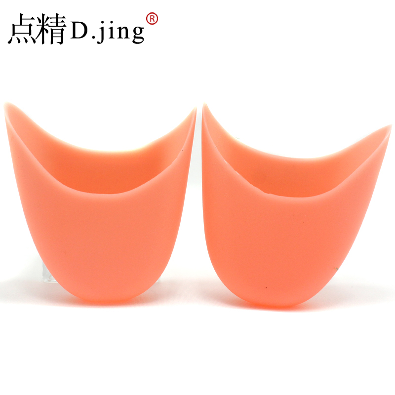 Free shipping silicone toe sets of toe protective sleeve silicone pad toe pointe shoe booties foot care insole