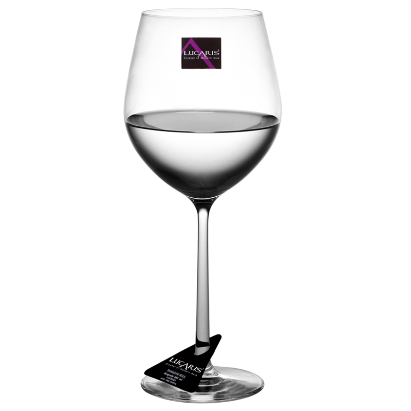 Free shipping thailand lucaris burgundy artificial crystal glass cup red wine imported wine glass goblet of red wine